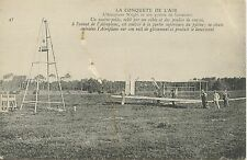 CARTE POSTALE / AVIATION / LA CONQUETE DE L'AIR / AEROPLANE WRIGHT