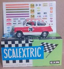 Seat 600 T.C. Rallie Exin Triang Scalextric SCX Ninco MSC OSC TeamSlot Reprotec