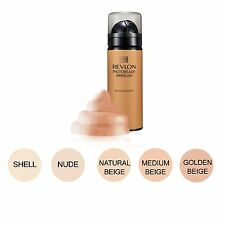 REVLON PHOTOREADY AIRBRUSH FONDOTINTA MOUSSE MAKEUP 020 SHELL g.39,7