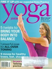 2012 Yoga Journal Magazine: Healthy Knees, Feet, Shoulders/Guys-Only Practice