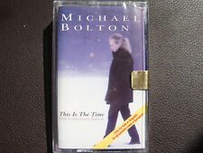 Michael Bolton - This Is the Time: The Christmas Album AUDIO CASSETTE TAPE