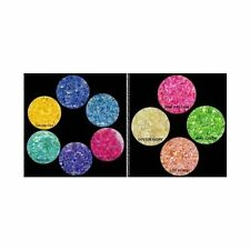 NEW Bright Crushed SEA SHELLS Nail Art  10 COLORS