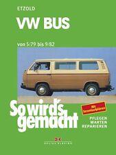 WERKSTATTHANDBUCH REPARATURANLEITUNG SO WIRD´S GEMACHT 24 VW BUS T3 5/79 - 9/82