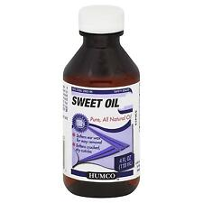 Humco® Pure All Natural Sweet Oil - Softens Ear Wax for Easy Removal, 4 oz