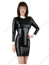 529 Latex Rubber Gummi shirts Dress One-piece Skirt fitted customized 0.4mm sexy