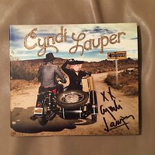 HAND-SIGNED Cyndi Lauper 'DETOUR' new 2016 CD release
