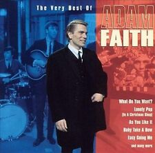 Adam Faith-The Very Best of-CD-Fantastic Early Rocker-Lead The Way For Many!!!