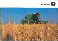 JOHN DEERE COMBINE 1065 BROCHURE - JB7