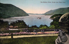 1939 Hudson River West Point DAYLINE STEAMER post card