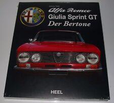 Bildband Alfa Romeo Giulia Sprint GT Der Bertone Johnny Tripler Heel NEU!