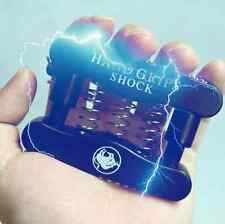 Hand Grip Electric Shock Strength Funny Fool Trick Halloween Decorations Props