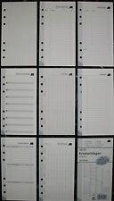 2 Packungen Ersatzeinlagen 60 Blätter 93 * 171 mm für Schülerplaner neu & OVP!