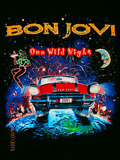 BON JOVI ONE WILD NIGHT Colonial Melbourne Australia VINTAGE 2001 M T shirt EC