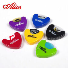 Alice Guitar pick holder + 6 different size Alice picks/plectrums