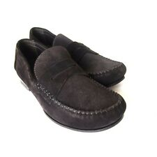 S-620252 New Bottega Veneta Espresso Suede Loafers Shoes Size US-8.5/marked 41.5