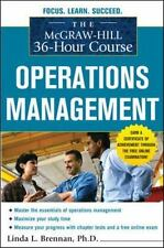 The McGraw-Hill 36-Hour Course: Operations Management McGraw-Hill 36-Hour Cours