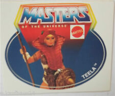 Aufkleber MATTEL TEELA MotU Masters of the Universe Sticker 80er