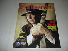 NEIL YOUNG on cover magazine LOT of 2 rare 2003 2001