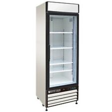 """New MAXX COLD Single Glass Door Reach-in Cooler 27"""" MXM1-23R FREE SHIPPING!"""