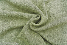 C167 MADE IN ITALY LUXURIOUS WOOL & CASHMERE BLEND DRIED EARTHY ARTICHOKE TONES
