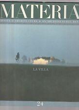 materia rivista di architettura numero 24 -  1° semestre 1997