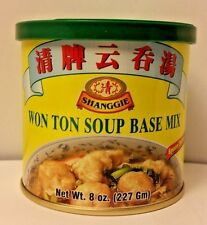 SHANGGIE WONTON SOUP BASE MIX FOR SOUP STIR FRIED MARINATION MEATS SEAFOOD