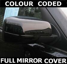 BLACK painted FULL door wing MIRROR COVERS for Land Rover Discovery 3 LR3 caps
