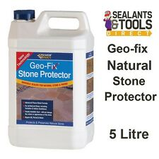 Everbuild Geofix Natural Stone Protector Paving Path Patio Sealer 5L Sandstone