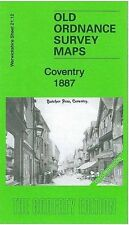 MAP OF COVENTRY 1887 (COLOURED)
