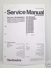 Technics Original Service Manual Schematics SX-KN2400 PCM Keyboard