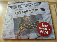 Bonfire - Cry for Help (SEALED NEW CD 2012) CACUMEN