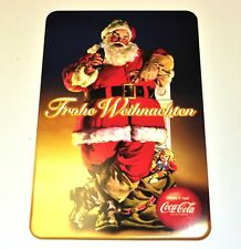 Coca-Cola Coke Hamburguesa King Metal Postales - Post Cartas - Santa con Sack