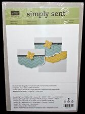 Stampin Up simply sent Card Kit New Sealed happy hello Components for 8 Cards