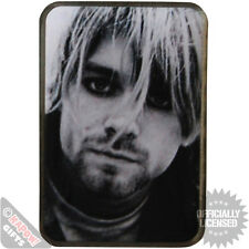 Kurt Cobain Metal Pin Badge. Retro 90's Grunge Icon Nirvana Teen Spirit
