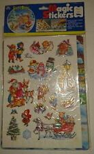 Silent Night -Christmas Magic Stickers with Activity Board - Reusable