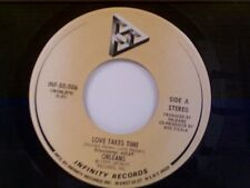 "ORLEANS ""LOVE TAKES TIME / ISN'T IT EASY"" 45"
