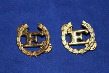 Circa 1950 Papua New Guinea Volunteer Rifles English Proficiency Badges