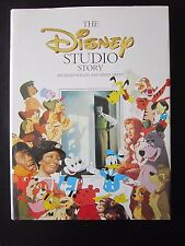 The Disney Studio Story Holliss Sibley Hardcover First Edition Hardcover 1988