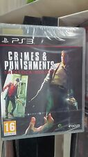 SHERLOCK HOLMES Crimes and Punishments   pour PS3 NEUF SOUS BLISTER