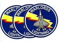 VMFAT-501 WARLORDS DECALS USMC MARINE CORPS F-35 LIGHTNING Squadron Patch Image