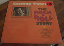 "Conway Twitty ""The Rock & Roll Story"" SEALED NM LP"