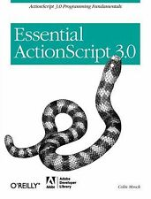 Essential ActionScript 3.0, Moock, Colin, Good Book