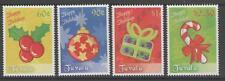 TUVALU SG1368/71 2009 CHRISTMAS MNH