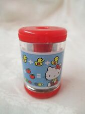 Vintage 1976 Japan Sanrio Hello Kitty plastic Pencil Sharpener Kittens 150 BY-27