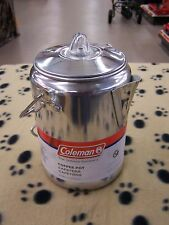 Coleman Coffee Pot 9 Cup Outdoor Camping.  Auction 117