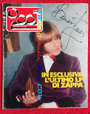 rivista CIAO 2001 37/1973 Frank Zappa Brian Jones Urian Heep Diana Ross No cd