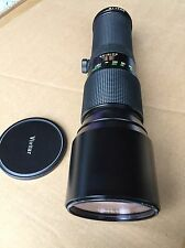 Vivitar 400mm F5.6 lens for Olympus W/ Case OM extremely good condition