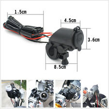 Motorcycle Waterproof 12V Cigarette Lighter & 5A Double USB Interface For Honda