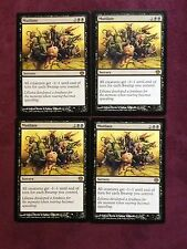 X4  Mutilate Duel Decks  MTG Magic   (see scan)