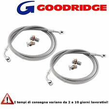 Tubi Freno Goodridge in Treccia Kawasaki Z750S (05-06)
